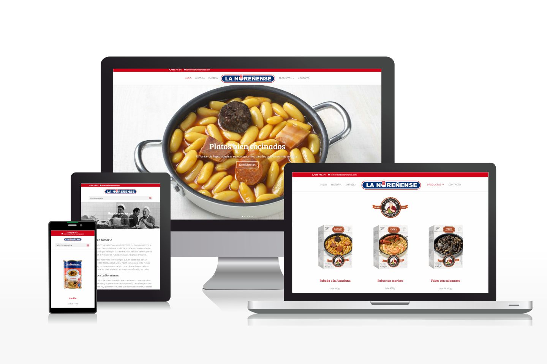 Diseño de catálogo virtual de alimentos precocinados